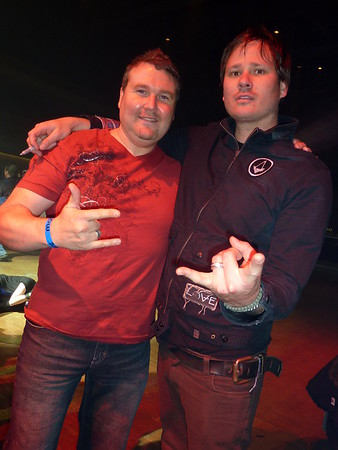 Las Vegas with Angels & Airwaves, UFC 114 Fight