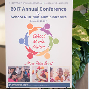 2016-10-26: School Nutrition Administrator's Conference
