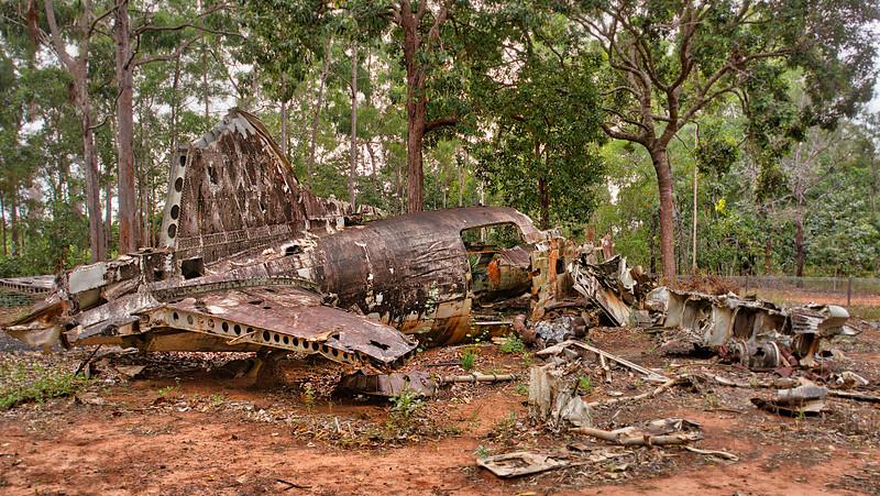 WW II Crash Site Cape York