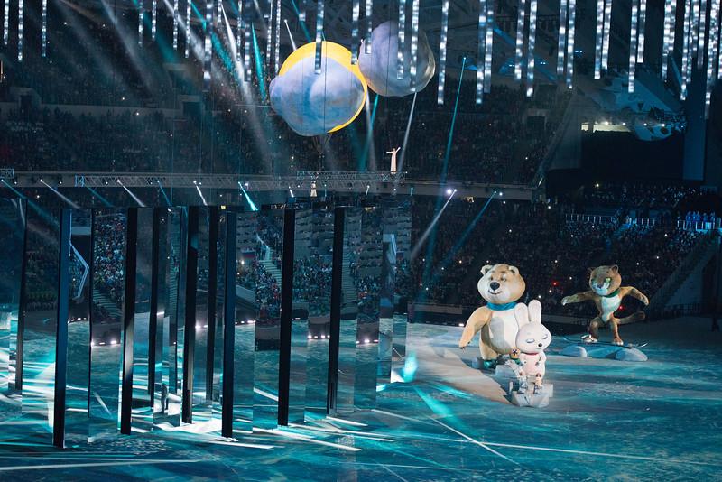 Sochi end ceremonies - päättäjäiset
