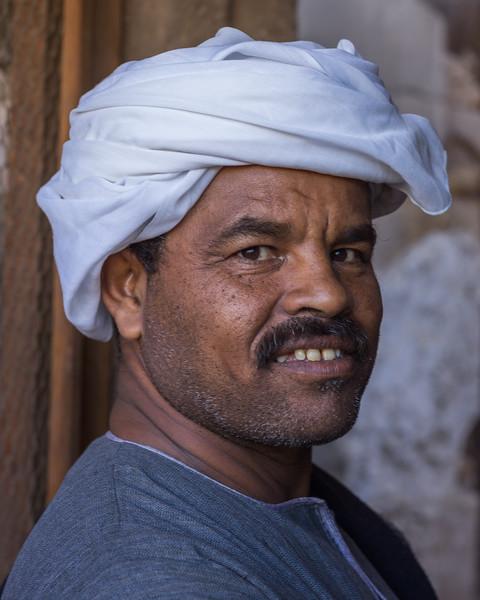 El jefe de obreros del Templo de Karnak