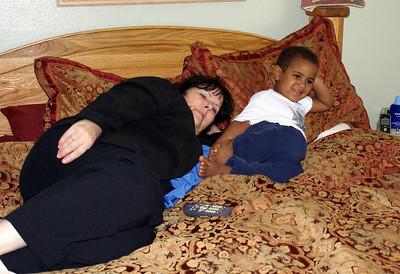 Grandkids and Grandma Spring 2010