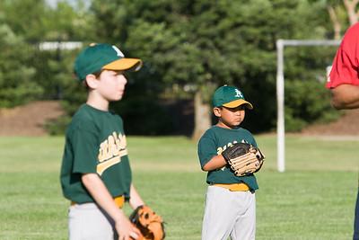 Jason Single A A's Baseball