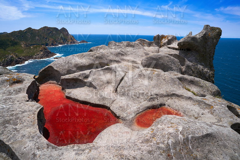 Alto do Principe view point in Islas Cies islands