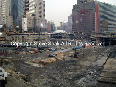 WTC - CLEAN-UP & RECOVERY -  PART TWO
