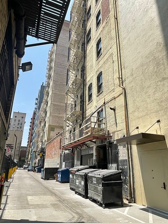 ALLEYS NEAR BROADWAY AND 7TH