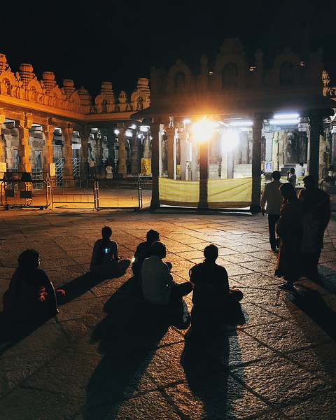Prayers at Nanjangud, c. 2014