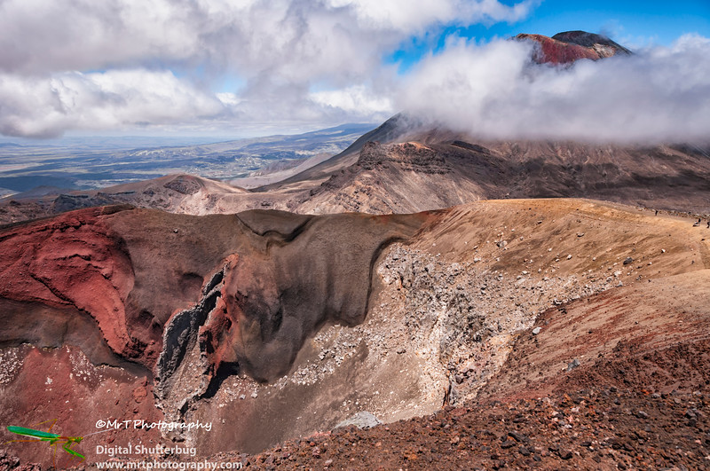 Red Crater and Mt Ngauruhoe