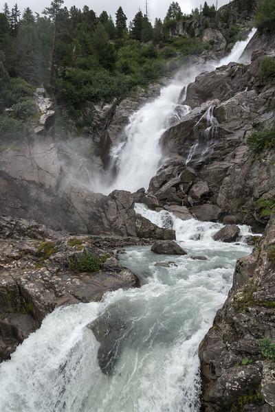Cascate del Rutor - La Thuile, Aosta, Italia 01 - 9 Agosto 2016