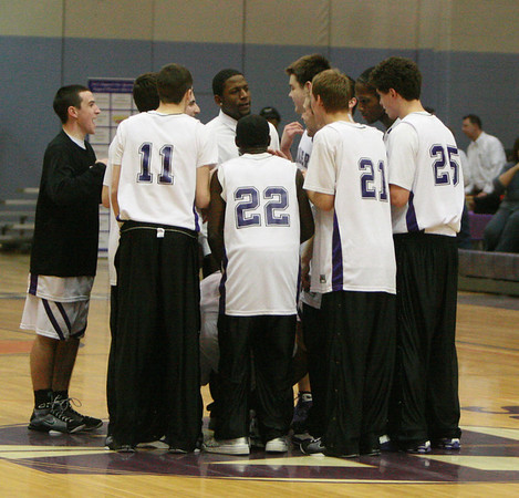 Bedford at Pioneer basketball 2009