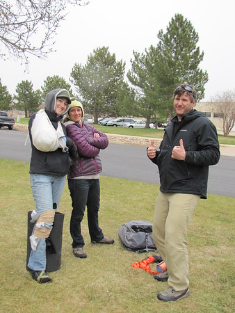 Wilderness First Aid Training April 2015