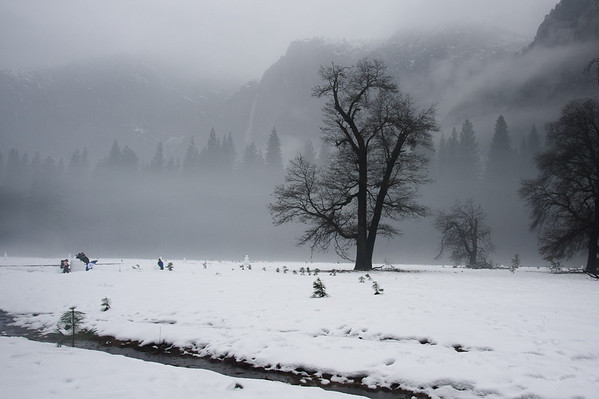 Yosemite Valley winter trip