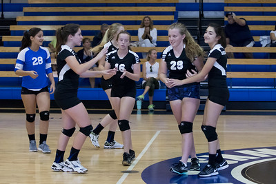 9-5-2017: MS A Girls Volleyball - CSN vs Seacrest