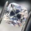 2.56ct Peruzzi/Antique Cushion Cut Diamond GIA L VS1 1