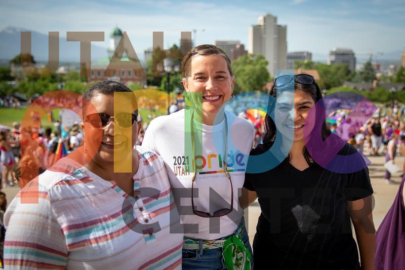 2021 Rainbow Rally & March photos by Pamela Bloom