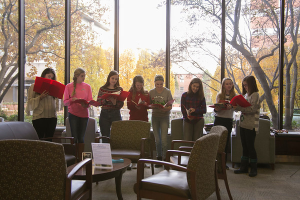 Markey Cancer Caroling
