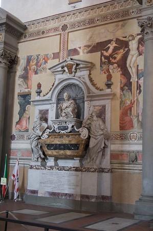 Galileo's Tomb, Santa Croche, Florence