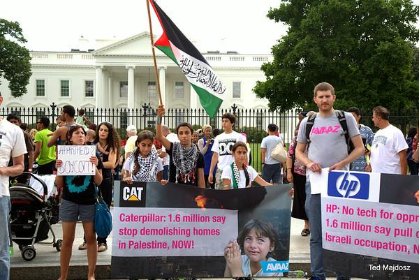 Vigil for Gaza 8/9/14