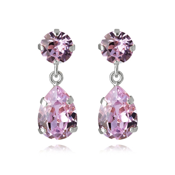 Mini Drop Earrings : Violet Rhodium.jpg