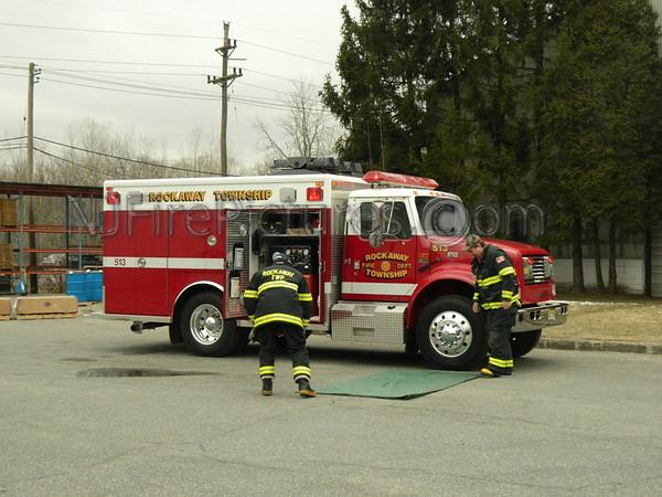 ROCKAWAY BOROUGH, NJ 2-ALARM FIRE 387 FRANKLIN AVE MC WILLIAM'S FORGE 3/18/13