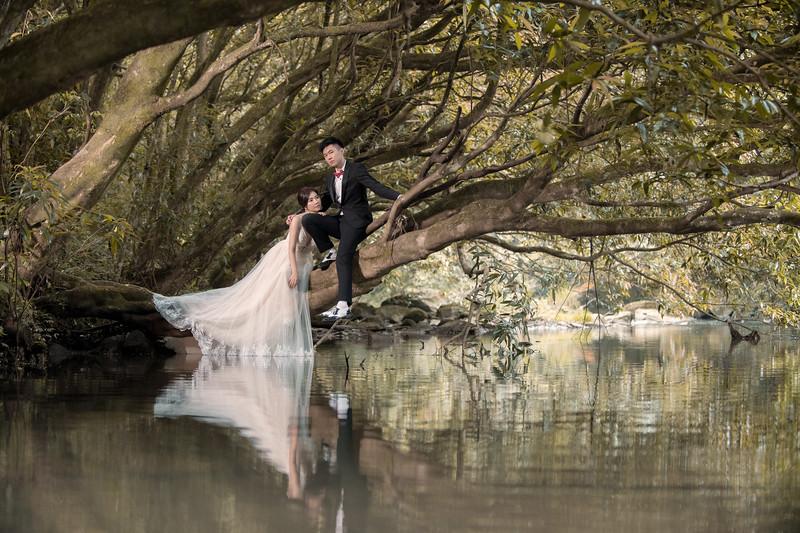 貴婦百貨、虎豹溪、九份 自助婚紗