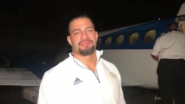 Roman Reigns - Video Screencaps (WWE Live Edinburg TX)