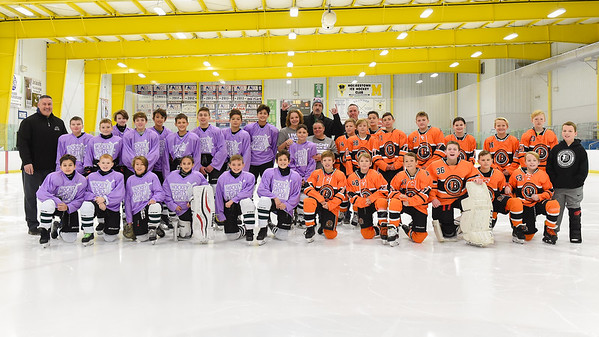 Hockey Fights Cancer  for Coach Ed Tracey