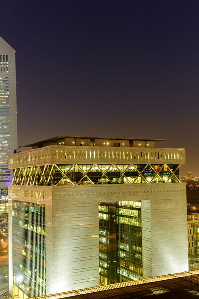 Dubai International Financial Centre. Commissioned by DIFC to build a photographic library. Dubai