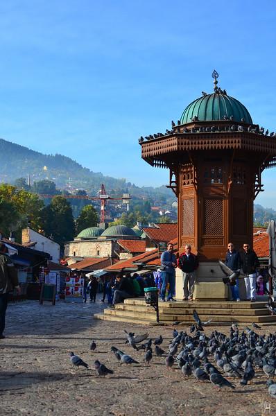 The Sebilj Sarajevo, Bosnia