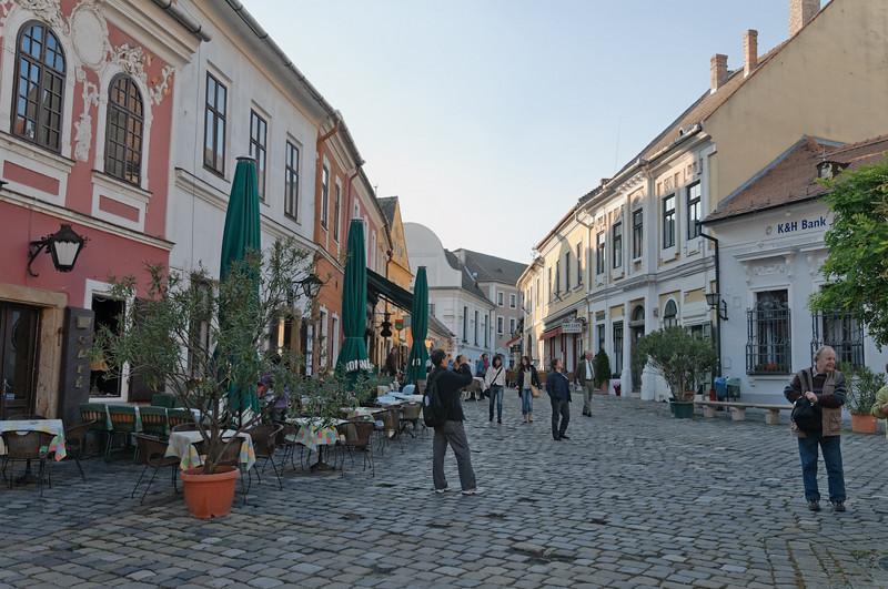 Szentendre hat eine wunderschöne Altstadt.