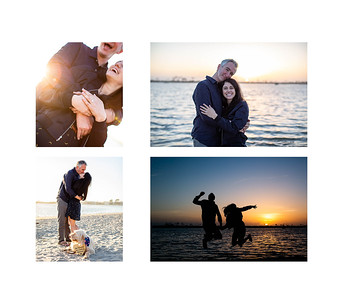 Proposal Photography Mission Beach - Steve & Roe