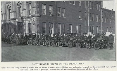 Motorcycle Squad - 1929