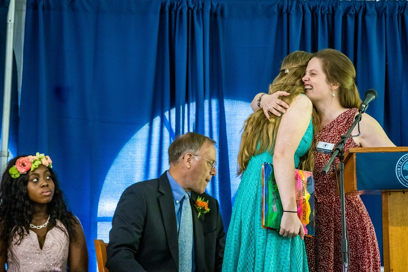 Scene from NCS graduation/commencement week 2019. photo by Nancie Battaglia