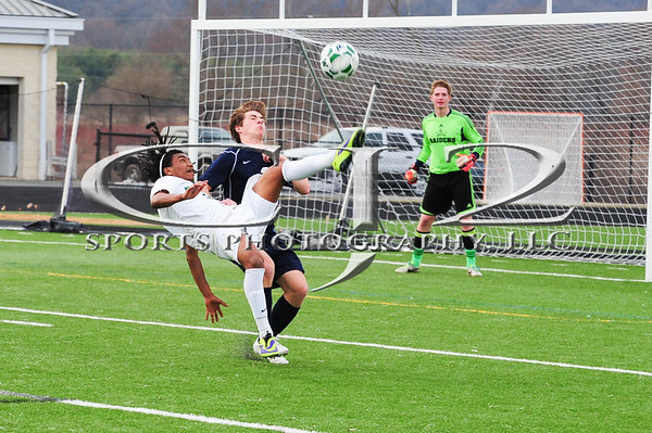 3-28-2014 Loudoun County at Woodgrove Boys Soccer (Varsity)