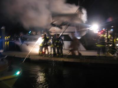 11/15/2005 Boat Fire