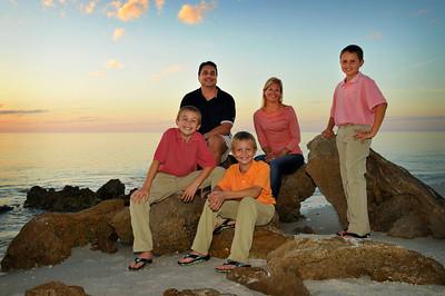 Cooper Family Beach Pics