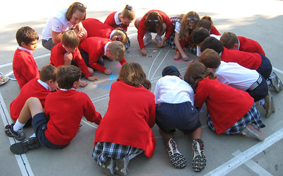 CHALK4PEACE Gooden School Sierra Madre, CA