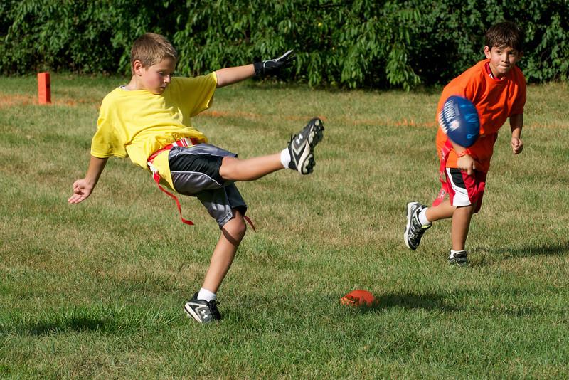 Hugo Flag Football Party  2010-08-22  14