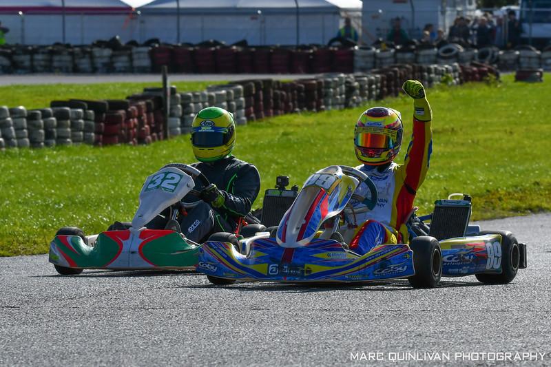 Motorsport Ireland Karting Championship 2018 - Round 9 - Galway