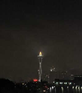 Seattle New Year's celebration 2010