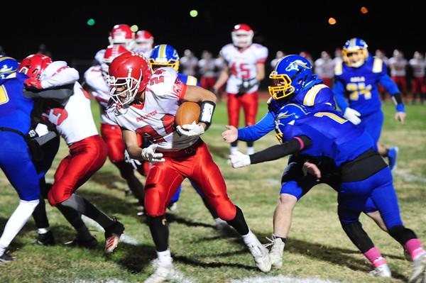 IHS-Burlington Football 10-23-20