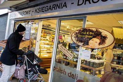 Polish deli on High Street, Ealing, London, United Kingdom