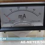 SKU: AE-METER/50MA, 50MA Ampere Meter (Galvanometer) Needle Panel Meter Gauge for CO2 Laser Machine