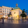 Evening Light on Rynek Square, Kraków, Poland