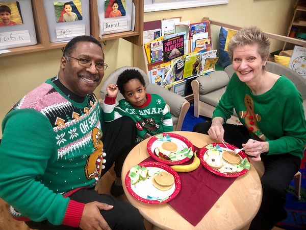 20191214 Breakfast with Santa at KinderCare