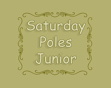 Junior Pole Bending Saturday
