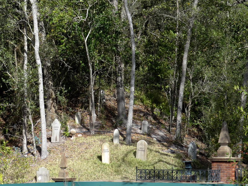 Haunted Mansion Cemetery