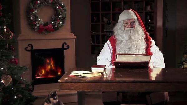 Santa greetings - Izzy