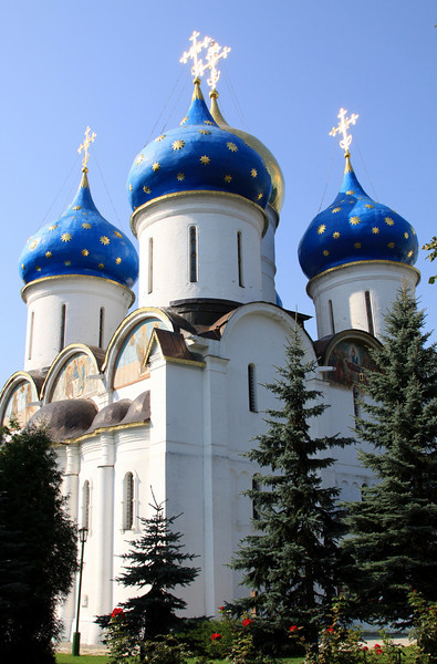Trinity Monastery of St Sergius, Sergiev Posad - Cathedral of the Assumption.