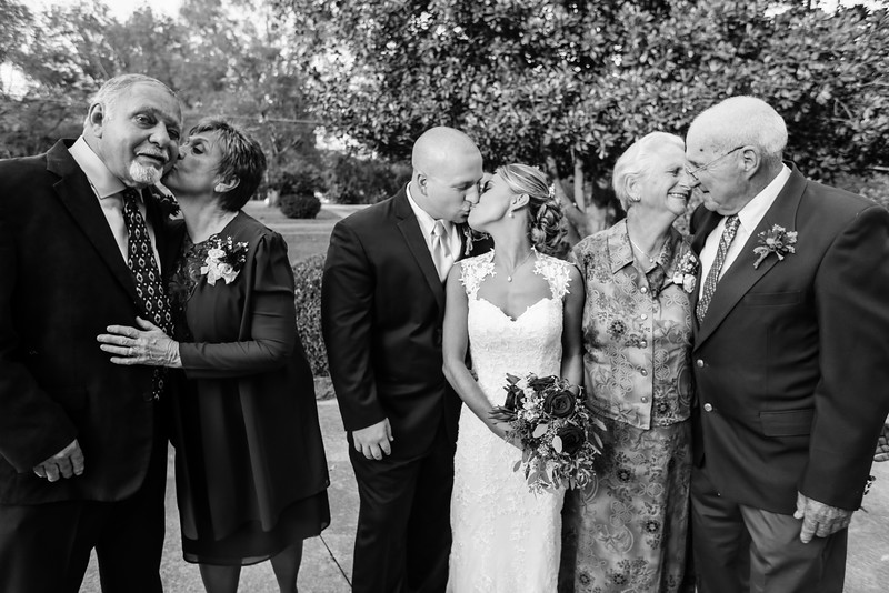Bridal Party & Family Portraits, The Grand Magnolia House